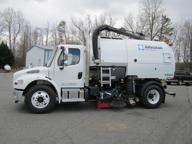 Bucher Municipal (Formerly Johnston Street Sweeper) Now Has Zero Emissions Electric Options